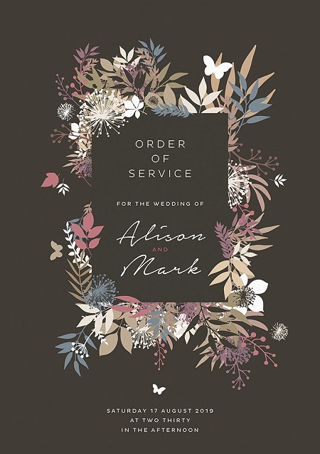 Wild Meadow Order of Service