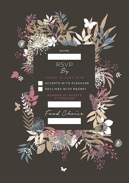 Wild Meadow RSVP Cards