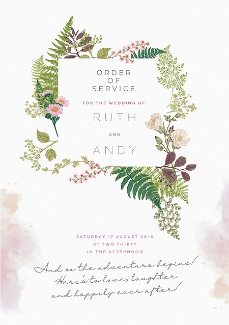 Nature's Garden Order of Service