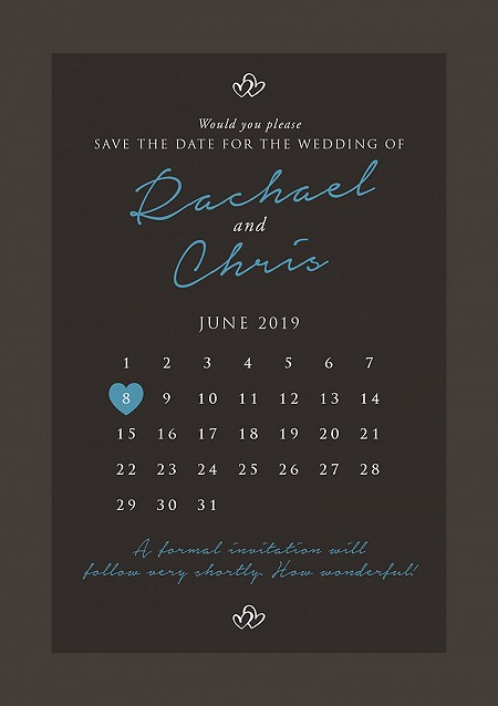 Entwined Save the Date Cards