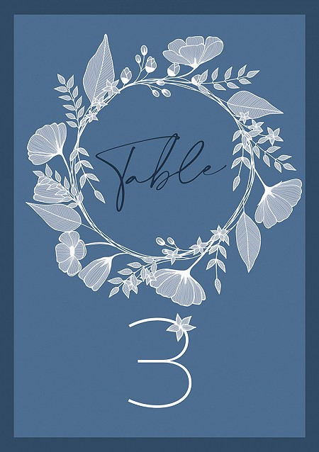 Eternal Elegance Table Numbers